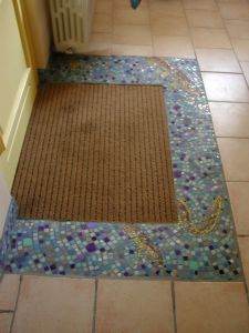 TAPIS D'entrée REALISATION MADE IN MOSAIC