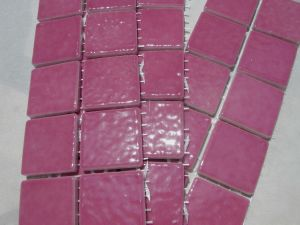 Carrelage fushia excellent autres vues with carrelage for Carrelage fushia