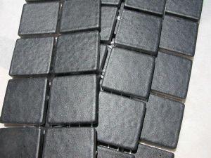 Mosa que maux de briare fusain noir mat par 100g for Carreaux de briare