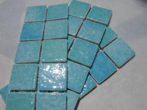 Mosa que maux de briare marquise bleu turquoise par for Carreaux de briare
