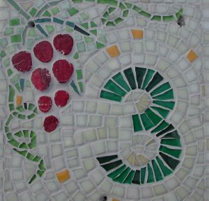 numeros de rue raisin REALISATION MADE IN MOSAIC