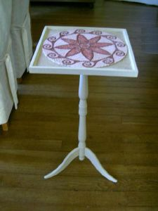 TABLE FLEUR ROSE mme RENAUD4