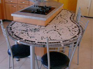 Table Cuisine Mosaique Modele Image En Mosaiques Table Cuisine