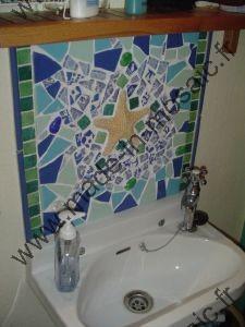 made in mosaic propose une variété de mosaique pour interieur ... - Plaque Mosaique Salle De Bain
