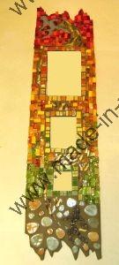 tableau tryptique mosaique modele image en mosaiques abstraites de chez made in mosaic. Black Bedroom Furniture Sets. Home Design Ideas