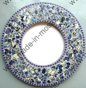 Decouvrez des modeles de miroir en mosaiques de made in for Miroir mosaique