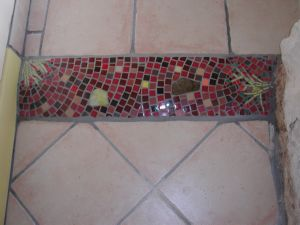 TAPIS ENTRE DEUX PIECES REALISATION MADE IN MOSAIC