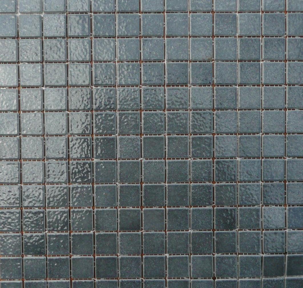 Gris foncé / schiste mosaïque émaux de Briare par 16g