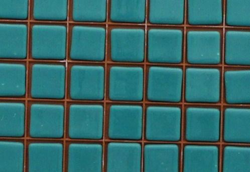 Mosaïque émaux de verre - Mosaique vert turquoise 2.5 cm 100 grammes ...