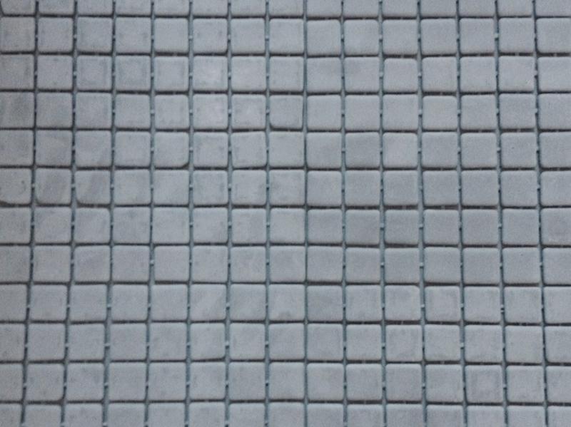 Mosa que maux de verre gris clair mat carton de 2 m for Carreaux de briare