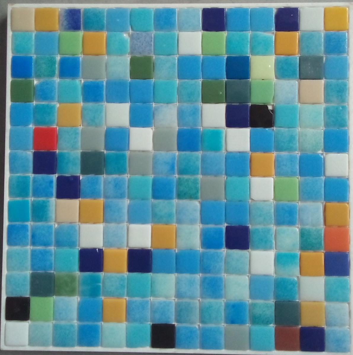 Emaux De Verre Salle De Bain ~ mosa que maux de verre m langes bleu 2eme choix de 33 5 par 33 50