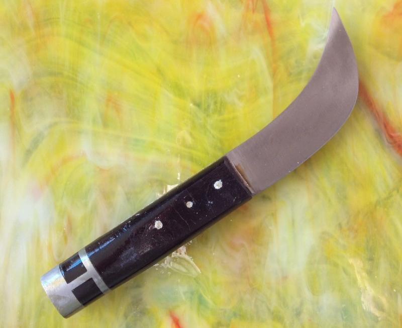 couteau plomb pour le verre montage plomb achat de couteau plomb vitrail. Black Bedroom Furniture Sets. Home Design Ideas