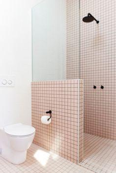 mosa que carrelage rose boudoir 4 cm au m achat mosa que carrelage salle de bain. Black Bedroom Furniture Sets. Home Design Ideas