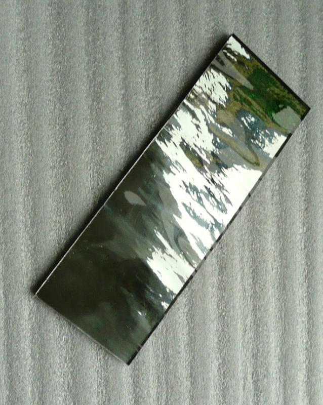 Miroir mosa que gris fonc 20 par 20 cm pour vos cr ations for Miroir gris argent