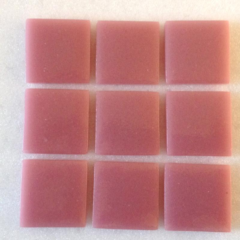 Mosa que maux de verre rose fonc plaque de 33 5 par cm achat mosaique salle de bain - Briare carrelage ...