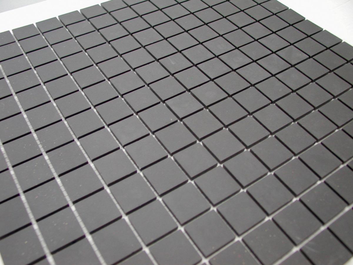Mosaique Gres Noir Plaque Winckelmans Achat De Carrelage Gres Pour