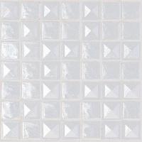 Mosa que maux de verre blanc pyramide relief par 100 grammes achat mosa - Carrelage blanc relief ...