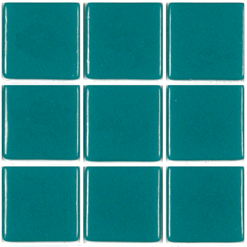 mosa que carrelage vert turquoise fonc 4 cm par plaque achat mosa que carrelage salle de bain. Black Bedroom Furniture Sets. Home Design Ideas