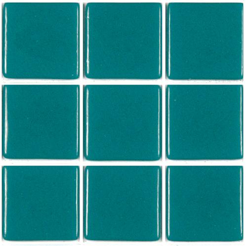 Charmant Vert Turquoise Foncé 2.4 Cm Mosaïque émaux ...