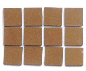 Brun café 2 cm mosaïque mat grès antique paray par lot de 10 M²