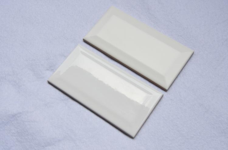 mosa que carreau m tro blanc brillant 75 par 150 mm achat de carrelage m tro pour mur. Black Bedroom Furniture Sets. Home Design Ideas