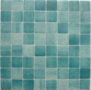 mosa que maux de verre vert turquoise par plaque de 33. Black Bedroom Furniture Sets. Home Design Ideas