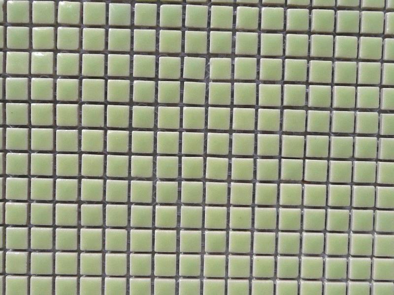 mosa que micro c ramique maill vert clair achat de micro pour mosaique. Black Bedroom Furniture Sets. Home Design Ideas