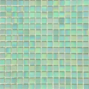 mosa que p te de verre gloss teinte vert c ladon nacre 2 cm mosa que de p te de verre en ligne. Black Bedroom Furniture Sets. Home Design Ideas