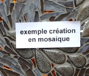 Creations en mosaique