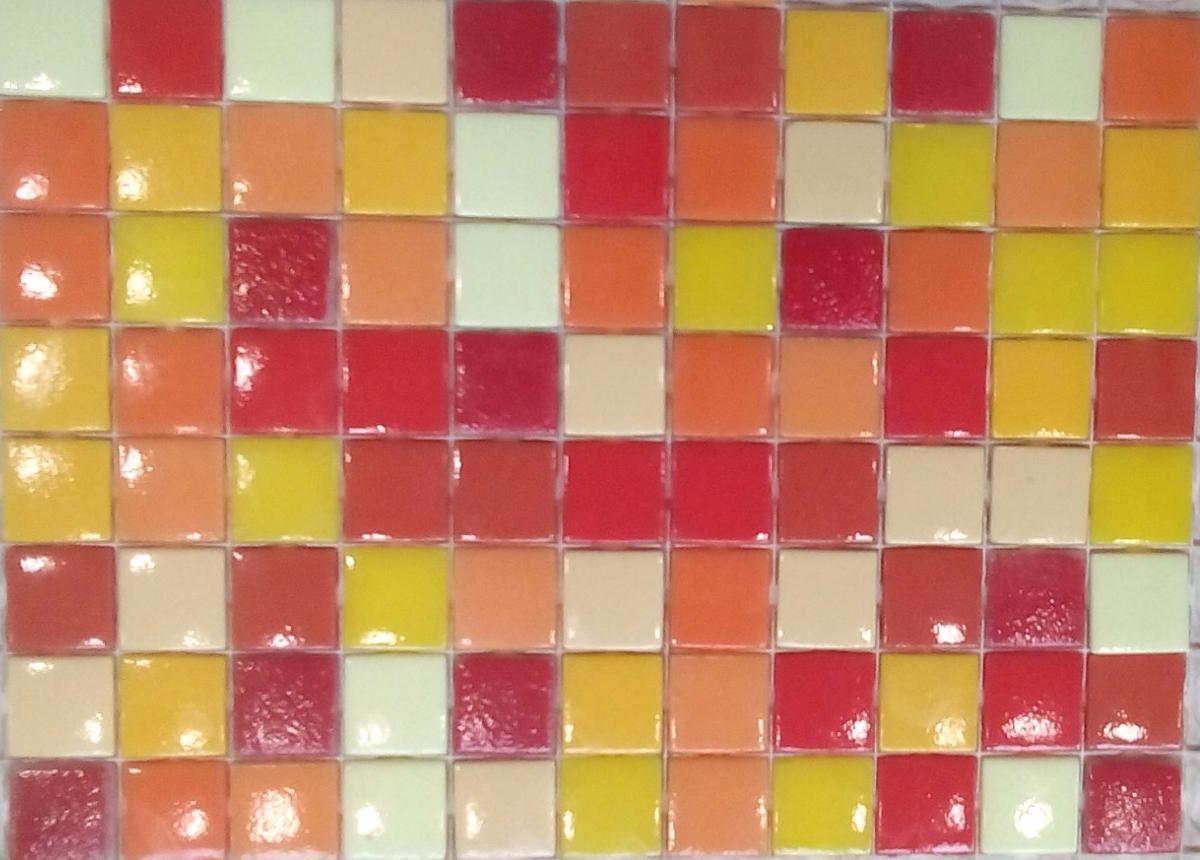 emaux de verre mosaique mix jaune orange 420 grammes de. Black Bedroom Furniture Sets. Home Design Ideas