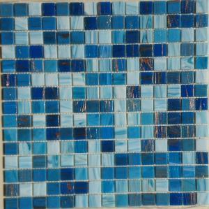 mosa que piscine m lange bleu marina au m mosa que de p te de verre m lange 2 cm. Black Bedroom Furniture Sets. Home Design Ideas
