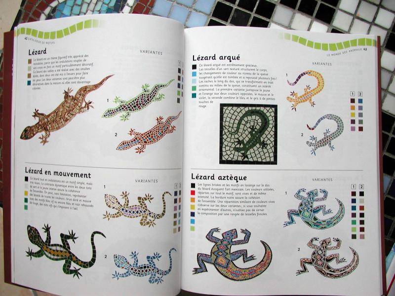 Livre Mosaique 300 Astuces Plus De 300 Modeles Et Realisations De Mosaique