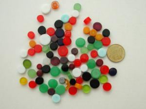 Millifiori mix couleur uni diamètre de 4 à 10 mm par 50g