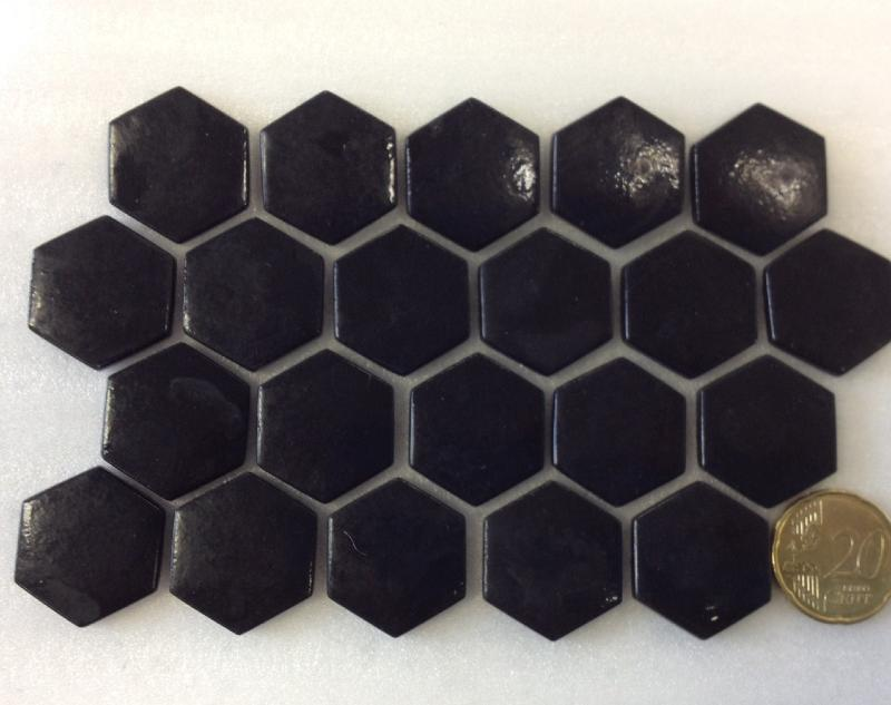 Carrelage Hexagonal Noir Mat Carrelage Hexagonal X Tomette - Carrelage hexagonal noir