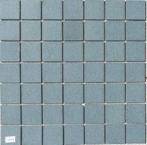 Mosa que carrelage bleu mouchet 5cm mat au m achat de for Carrelage mouchete