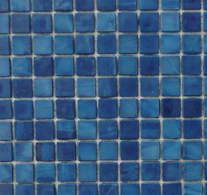 Mosa que maux de verre venise mosaique bleu marine 1 5 for Carreaux de briare