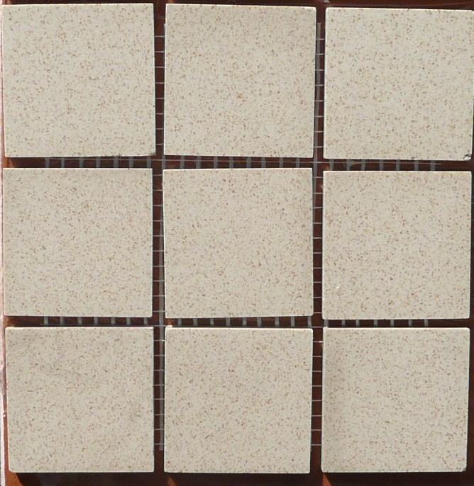 Mosaique carrelage sable brun 5cm mat au m achat de for Carrelage mouchete
