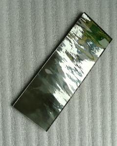 Miroir mosa que gris anthracite format 5 par 20 cm pour for Miroir 5 bandes