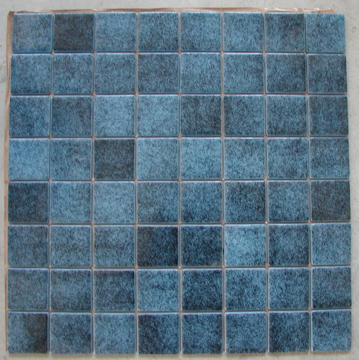 Fuite Robinet Mitigeur Salle De Bain ~ Mosa Que Carrelage Bleu Fonc Niagara 4 Cm Par Plaque Achat