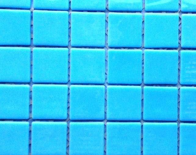maux de verre bleu azur turquoise 5 cm par plaque de 30. Black Bedroom Furniture Sets. Home Design Ideas