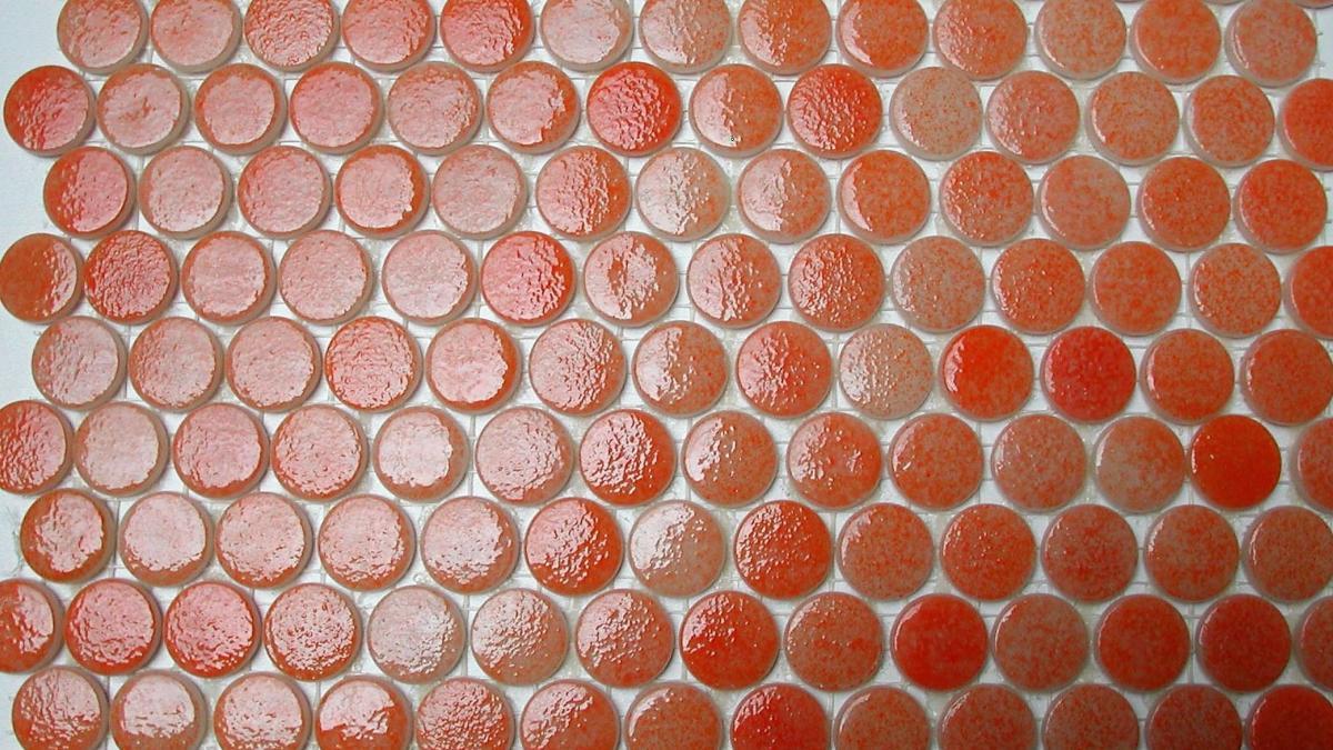 mosa que ronde plate pastille orange agrume par 100 grammes pour mosa que. Black Bedroom Furniture Sets. Home Design Ideas