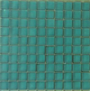 mosa que p te de verre couleur vert menthe glaciale mat plaque vente de mosa que salle de bain. Black Bedroom Furniture Sets. Home Design Ideas
