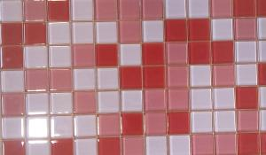 Mix rose rouge brillant mosaïque vetrocristal 2.5 cm par 200 g