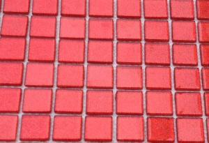 mosa que p te de verre translucide couleur paillette rouge plaque vente de mosa que salle de bain. Black Bedroom Furniture Sets. Home Design Ideas