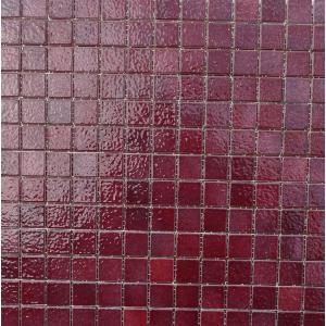 Mosa que de briare quetsche rose fonc par plaque de 34 for Carreaux de briare