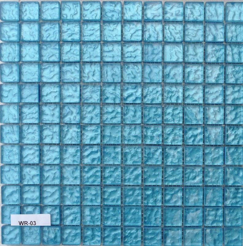 mosa 239 que p 226 te de verre transluscide couleur bleu martel 233