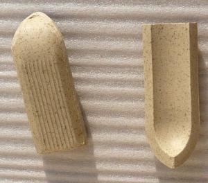 Plinthe et carrelage gr s 10 par 10cm propos par made in - Plinthe a gorge ...