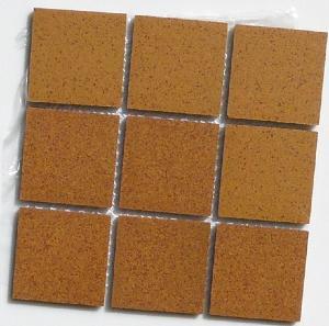 Mosaique carrelage brun chaumi re mouchet 5cm mat achat for Carrelage mouchete