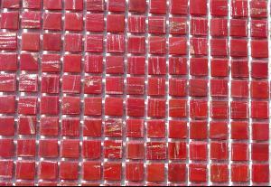 micro mosa que p te de verre rouge gemm 1 cm plaquette achat de micro pour mosa que. Black Bedroom Furniture Sets. Home Design Ideas