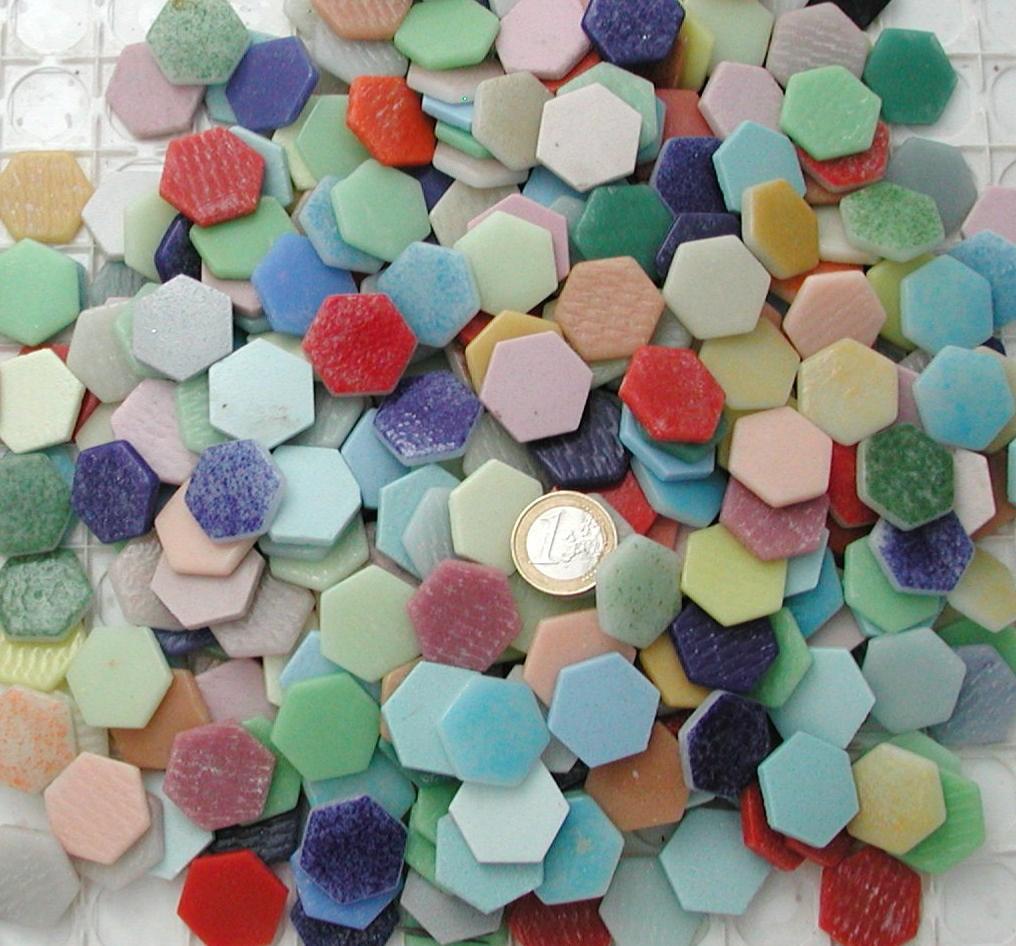 mosa que pas cher mosa que d 39 maux de verre hexagone. Black Bedroom Furniture Sets. Home Design Ideas
